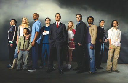 Cast Heroes (NBC Photo, oleh Mitch Haaseth)