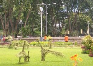 Bungkul Park' altar
