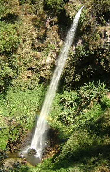 Watu Ondo main waterfall