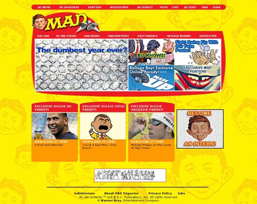 mad-website