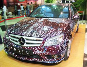 Car batik