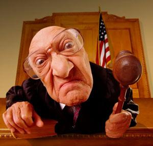 Evil judge